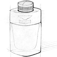 Bentley For Men | Bottle Design Sketches