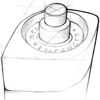 Bentley For Men | Bottle Design Sketches