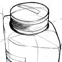 Bentley For Men Azure | Bottle Design Sketches
