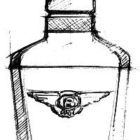 Bentley Infinite | Bottle Design Sketches